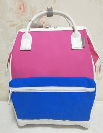 Pu Colorblock Mochila Impermeable