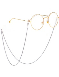 Fashion Silver Metal Chain Glasses Chain
