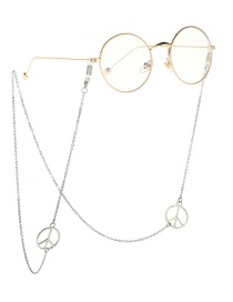 Fashion Silver Non-slip Eyeglass Chain