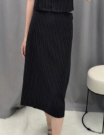 Fashion Black A Word Skirt