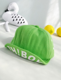 Fashion Oh!boy Green Children's Baseball Cap