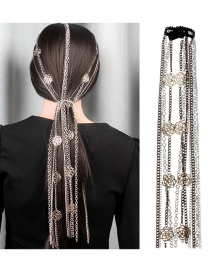 Fashion Silver Fringed Head Chain