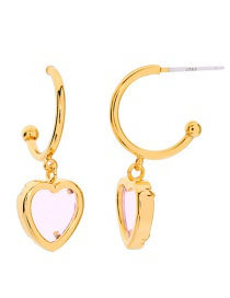 Fashion Heart Shaped Earring Heart Earrings