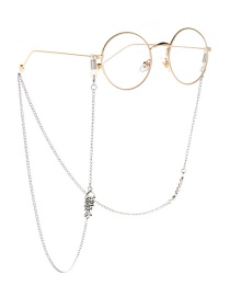 Fashion Silver Fish Bone Glasses Chain