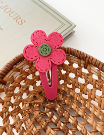 Fashion Bb Clip - Rose Flower Felt Flower Hair Clip