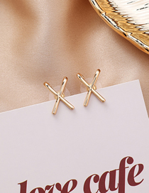 Fashion Metal 925 Silver Studded Diamond Metallic Earrings