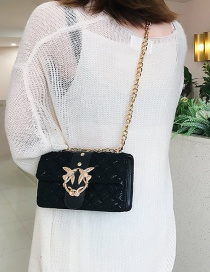 Fashion Black Lace Swallow Shoulder Crossbody Bag