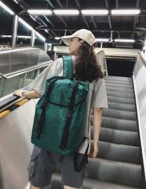 Fashion Green Drawstring Backpack