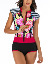 Fashion Pink Siamese Diving Suit
