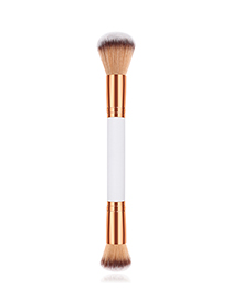 Fashion Platinum Double-headed Powder Brush