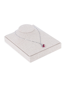 Fashion Cotton And Linen Flannel Jewelry Display Stand