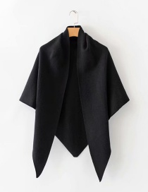 Fashion Black Shawl Scarf