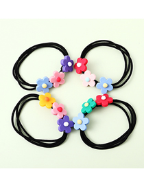 Fashion Random Color Flower Headband