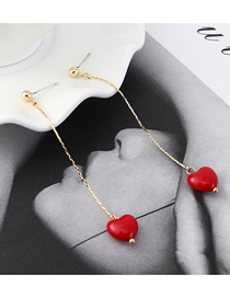 Fashion K Gold Plated Gold Tassels Carefully S925 Silver Needle Studs