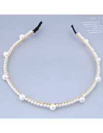 Fashion White Pearl Headband