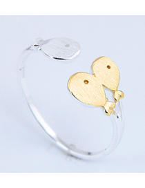 Fashion Golden Cartoon Fish Alloy Open Ring