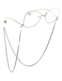 Fashion Silver Copper Star Chain Glasses Chain