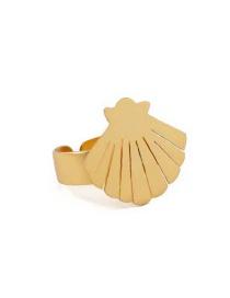 Fashion Gold Starfish Shell Open Ring