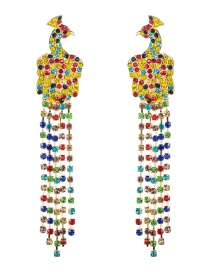Fashion Color Diamond-studded Earrings