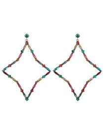 Fashion Diamond Diamond Drop-shaped Diamond Earrings