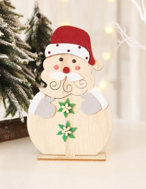 Fashion Elderly Diy Ornaments Wooden Christmas Ornaments