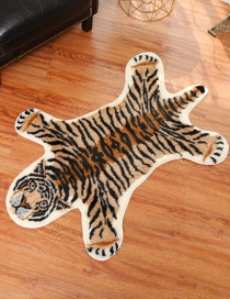 Fashion Tiger Carpet Animal Imitation Leather Carpet