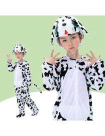 Fashion Dalmatian Split Long Section Cartoon Dalmatian Costume