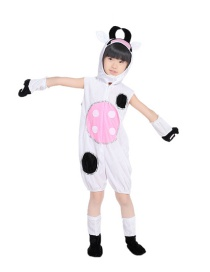 Fashion Small Cows Short Body Full Set Cartoon Little Cow Costume