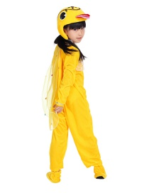 Fashion Yellow Duck Split Long Section Cartoon Ugly Duckling Costume