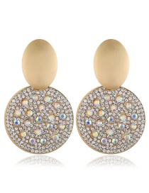 Fashion White Pearl Round Earrings