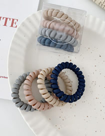 Fashion Matte - Basic Color 4 Strips Of Matte Color Seamless Phone Ring