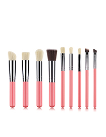 Fashion Pink 9 Stick Makeup Brush