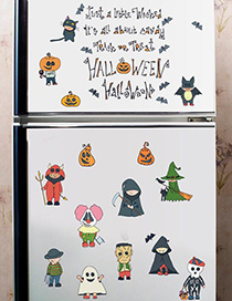 Fashion Color Sk7123 Halloween Free Stickers
