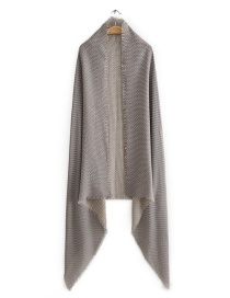 Light Grey Small Dot Pattern Scarf Shawl