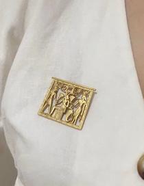 Fashion Gold Egyptian Pharaoh Brooch