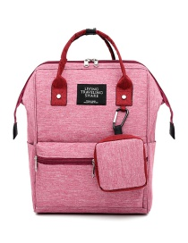 Fashion Powder With Red Canvas Mother Backpack