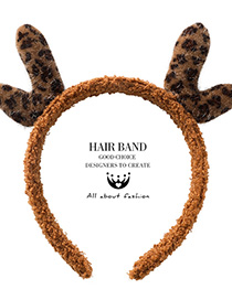 Fashion Dark Brown Antler Headband