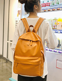 Fashion Orange Backpack