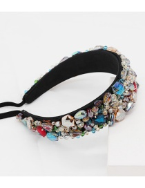 Fashion Color Headband Gemstone Headband