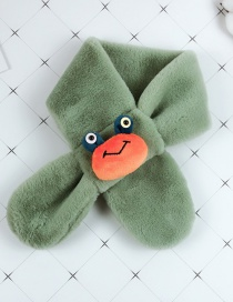 Fashion Green Cartoon Antenna Baby Child Scarf