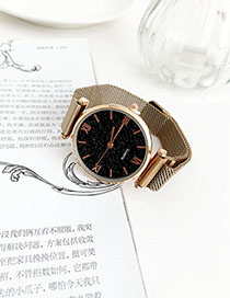 Fashion Khaki Alloy Watch