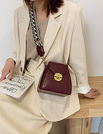 Fashion Red Wine Shoulder Bags