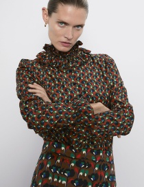 Fashion Color Laminated Printed Shirt