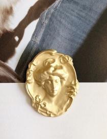 Broche De Monedas Antiguas De Retrato