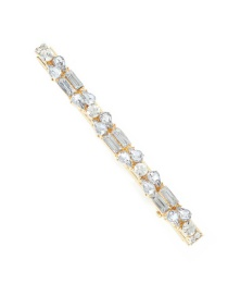 Fashion Double Diamond Alloy Rhinestone Hair Clip