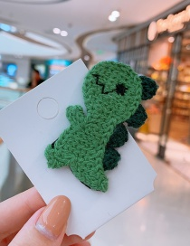 Fashion Dinosaur Cartoon Little Dinosaur Wool Hair Clip
