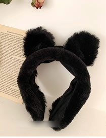 Fashion Black Cat Ears Wide-brimmed Hair Band