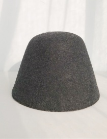 Fashion One Piece Of Wool Woolen Cap Black Ash Wool Shade Lamp Bell Cap