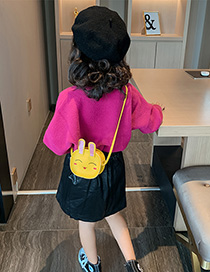 Fashion Yellow Cartoon Bunny Child Coin Purse