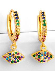 Fashion Geometric Diamond Earrings